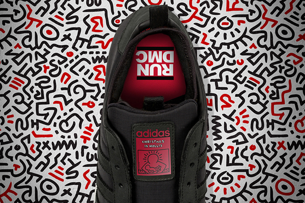 Adidas Superstar Run DMC x Keith Haring 02