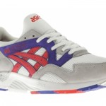 Asics Gel Lyte V White/Fiery Red 2014