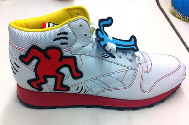 Reebok Classic Keith Haring Leather Mid Lux 02