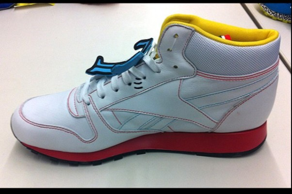 Reebok Classic Keith Haring Leather Mid Lux 03