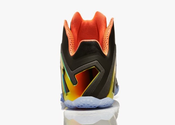 Nike LeBron 11 Elite Gold 06