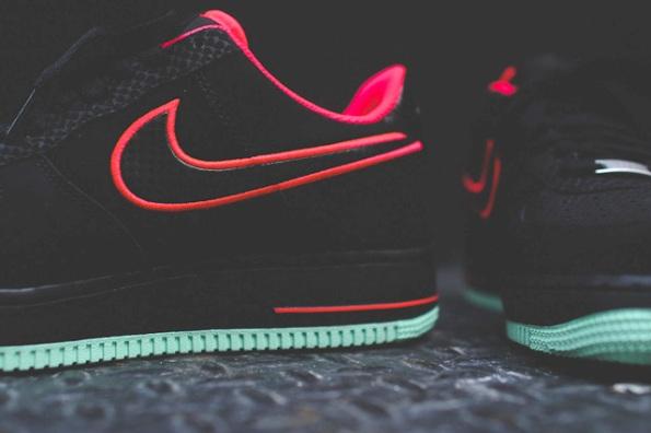 Nike Air Force 1 Laser Crimson Artic Green 04