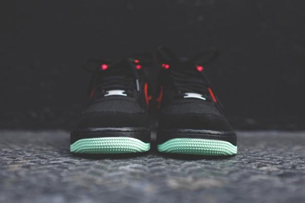 Nike Air Force 1 Laser Crimson Artic Green 09