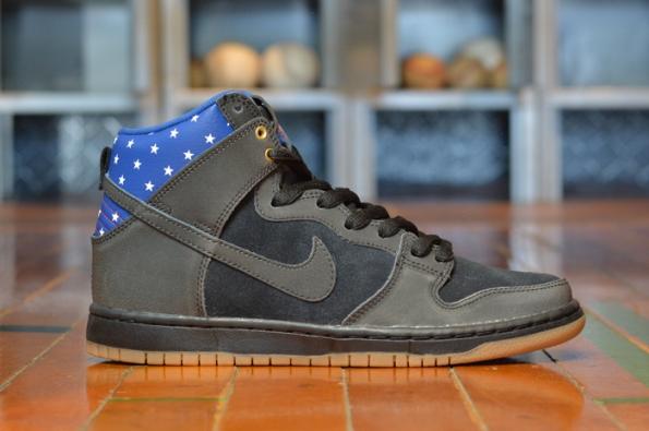 Nike SB Dunk HI Premium Captain America 02