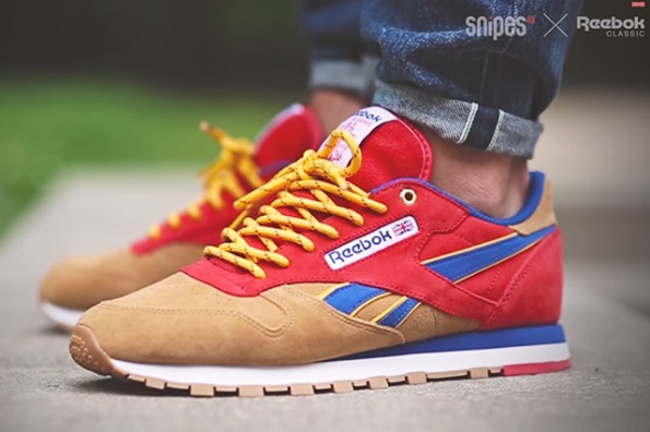 Reebok Classic Leather Camp Out x Snipes 01