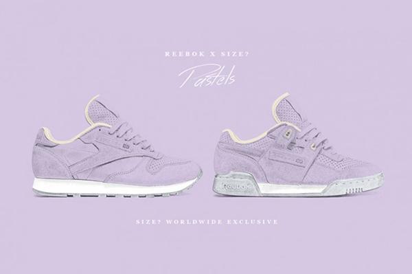 Reebok Pastels Purple Oasis x Size 01