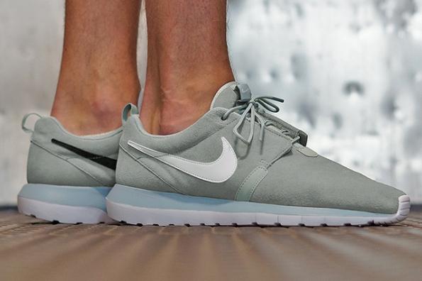Nike Roshe Run NM Cool Grey Suede 01