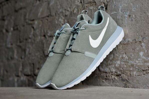 Nike Roshe Run NM Cool Grey Suede 02