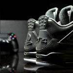 "Air Jordan 4 ""PS4″ Custom"