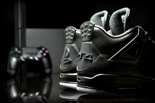 Air Jordan 4 PS4 Custom 02