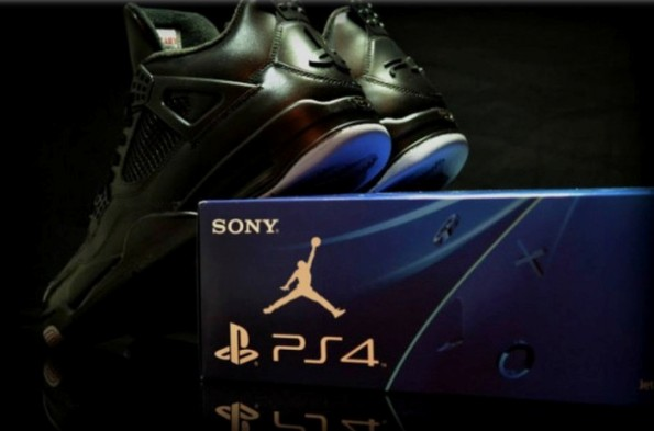 Air Jordan 4 PS4 Custom 04