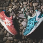 Asics Gel Lyte V Rose Gold & Sage x Ronnie Fieg
