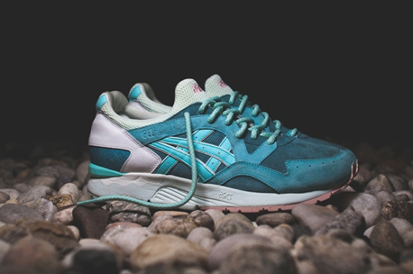 Asics Gel Lyte V Rose Gold & Sage x Ronnie Fieg 05