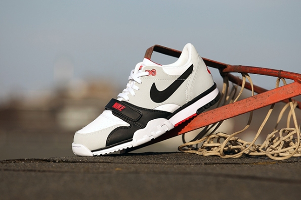 Nike Air Trainer 1 Low White Black Red 01
