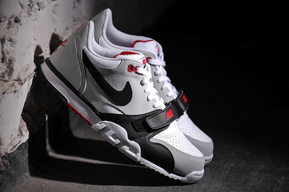 Nike Air Trainer 1 Low White Black Red 02