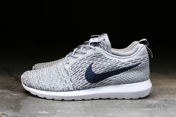nike flyknit roshe run grey mis tillas. Black Bedroom Furniture Sets. Home Design Ideas