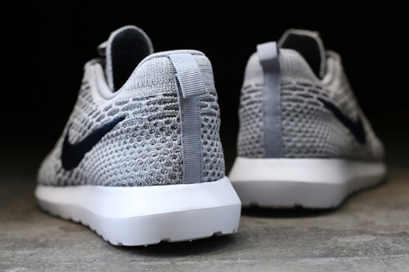Nike Flyknit Roshe Run Grey 04