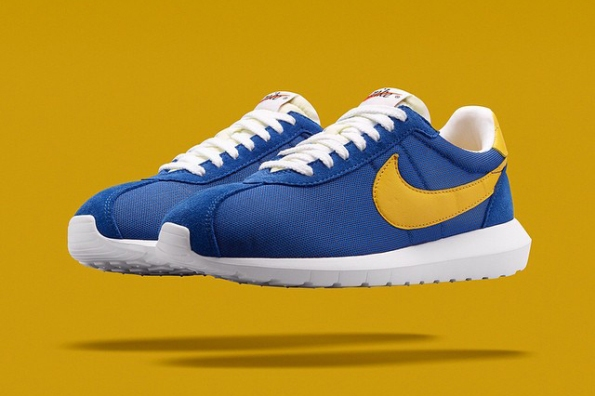 Nike Roshe LD 1000 Blue Yellowm 01