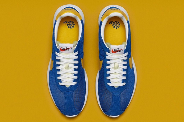 Nike Roshe LD 1000 Blue Yellowm 02