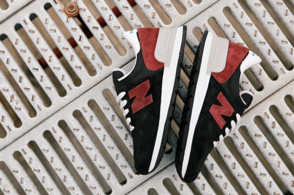 New Balance 990 Black Burgundy 04
