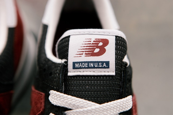 New Balance 990 Black Burgundy 05