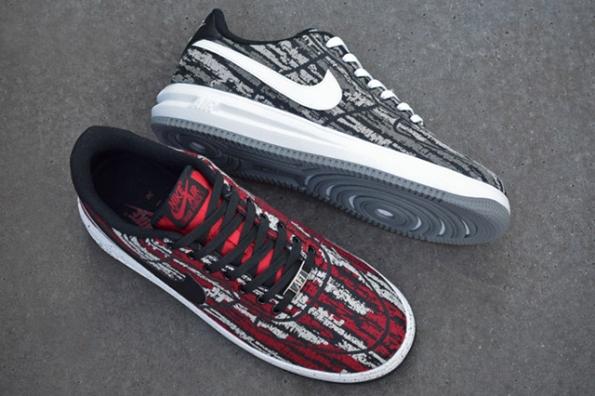 Nike Lunar Force 1 Holiday Pack Jacquard 01