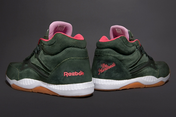 Reebok Pump AXT Pack x The Hundreds Cold Waters 10