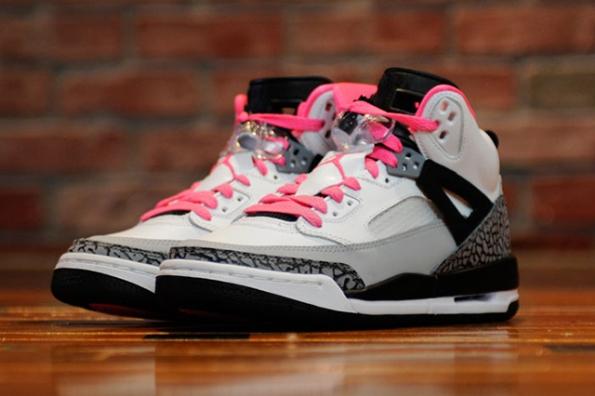 Air Jordan Spizike GS Hyper Pink 01