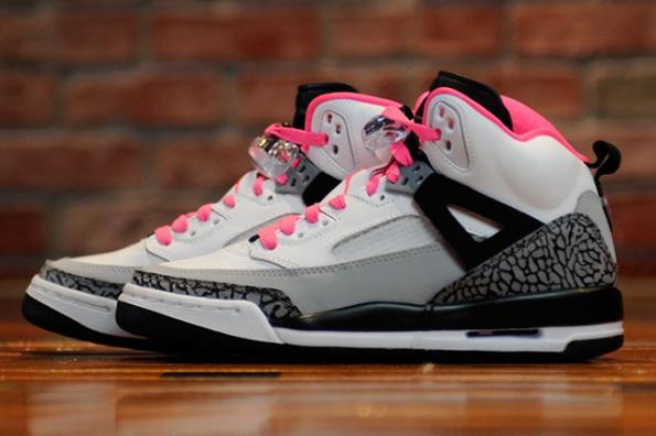 Air Jordan Spizike GS Hyper Pink 02