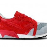 "Diadora N9000 ""Red/Grey"""