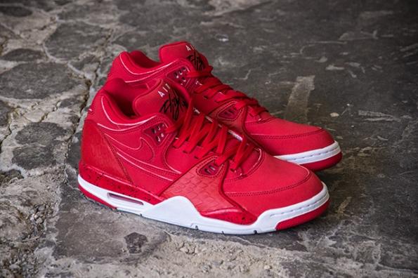 Nike Air Flight 89 University Red Black 01