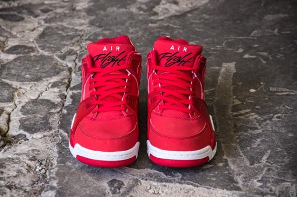 Nike Air Flight 89 University Red Black 02