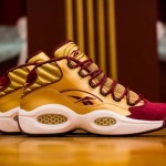 "Reebok Question Mid x Packer Shoes ""Saint Anthony HS PE"""