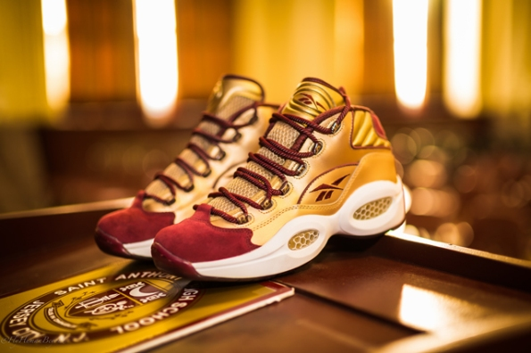 Reebok Question Mid x Packer Shoes Saint Anthony 03