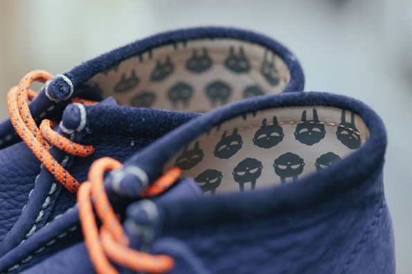 Clarks Wallabee Boot Navy x MF Doom 05