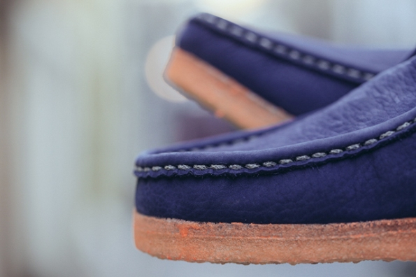 Clarks Wallabee Boot Navy x MF Doom 09