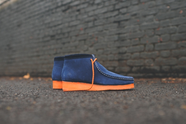 Clarks Wallabee Boot Navy x MF Doom 11