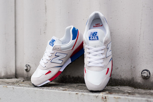 New Balance 446 OFF White Red Blue 04