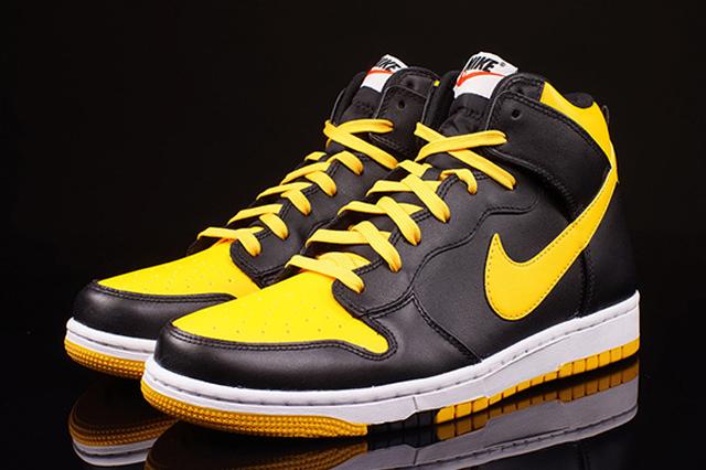 Nike Dunk High University Gold 01