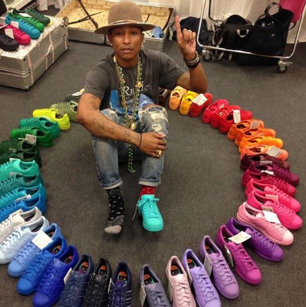 Adidas Superstar 50 colores 01
