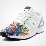 "Adidas ZX Flux ""Splattered Toe"""