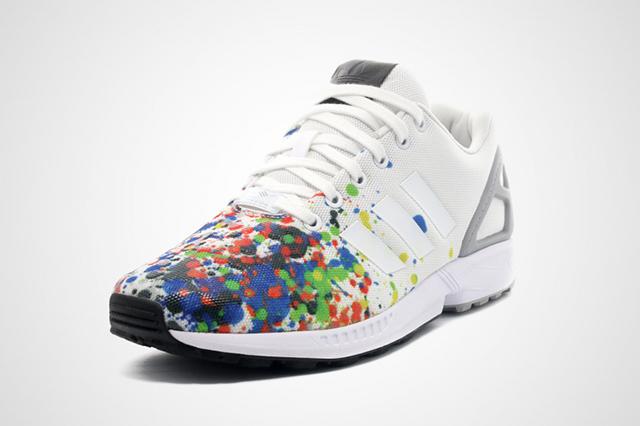 Adidas ZX Flux Splattered Toe 01