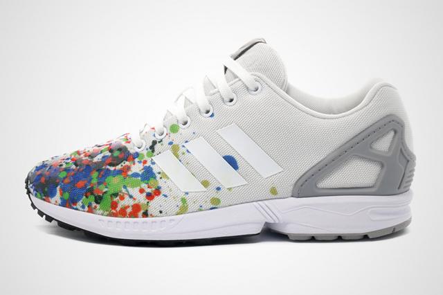 Adidas ZX Flux Splattered Toe 03