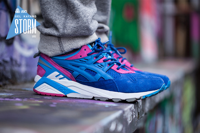 Asics Tiger Gel Kayano Storm x Foot Patrol 02