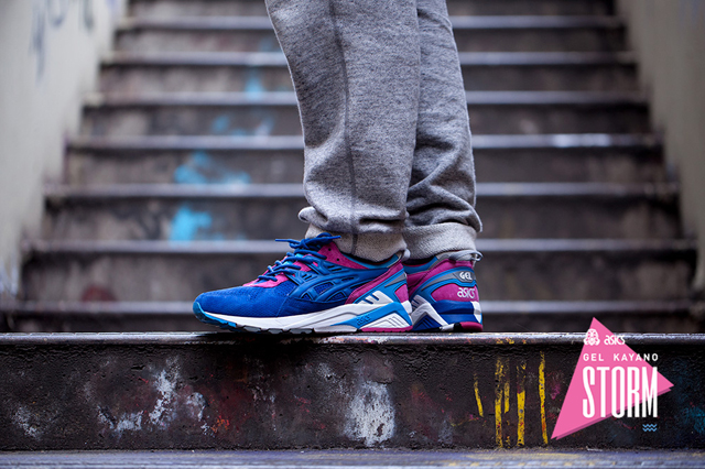Asics Tiger Gel Kayano Storm x Foot Patrol 06
