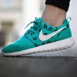 "Nike Roshe Run ""Leopard Teal"""