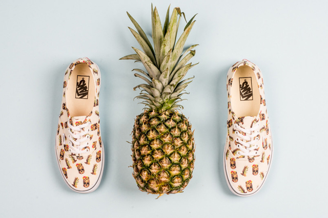 Vans Authentic Pineapple White 01