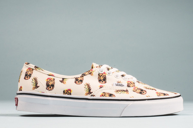Vans Authentic Pineapple White 02