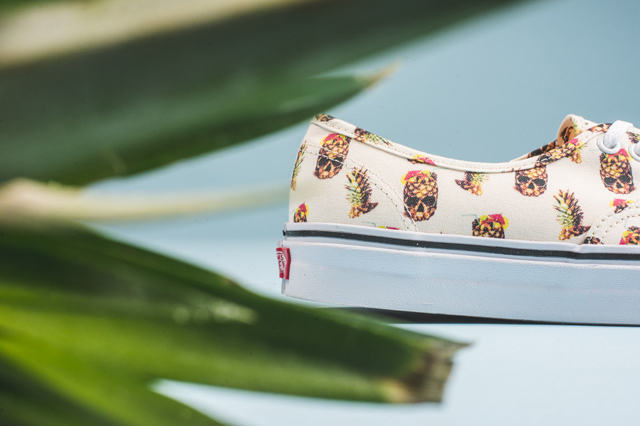 Vans Authentic Pineapple White 05