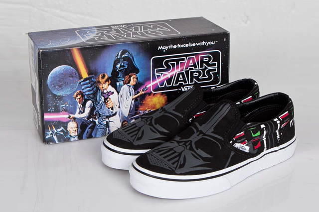 Vans Slip On Darth Vader 01